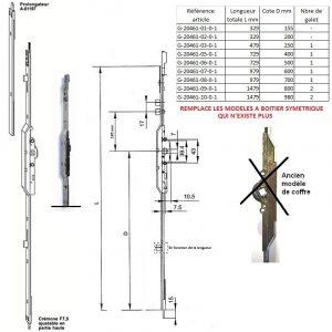 cremone porte fentre ferco gu g-20461 jet 7 g-13444 A-13444 montpellier 34