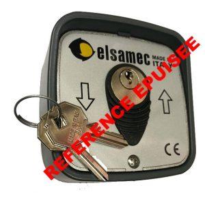 ELSAMEC 1134 contacteur selecteur boitier a cles clefs montee descente pour rideau metallique letal bft nice elsamec ce af ceaf epuise
