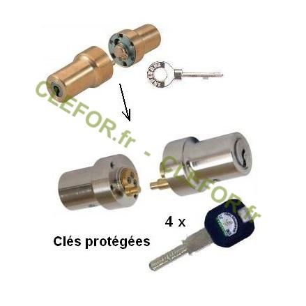 cylindre adaptable pour serrure laperche rols montpellier