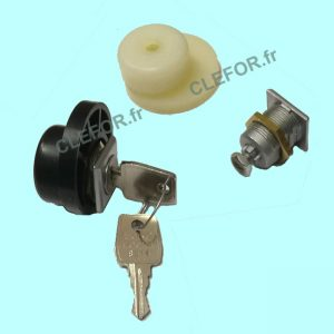 serrure cibox euro locks came ronde bac 10001 BAC10003