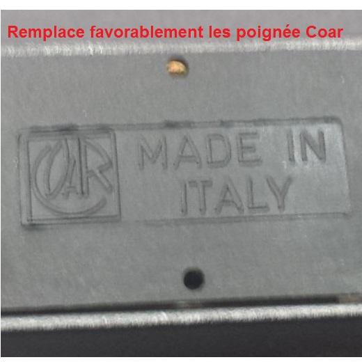 logo poignee coar made in italy savio av brev giesse profil system creal kawneer
