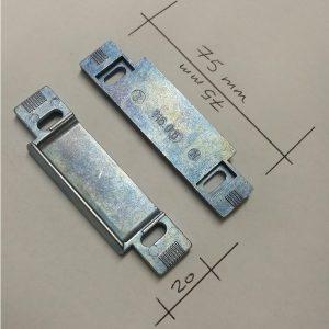 gache de serrure reglable pour pene demi tour 116-06 116 06