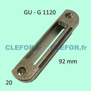 Gâche G 1120 G.1120 GU Ferco