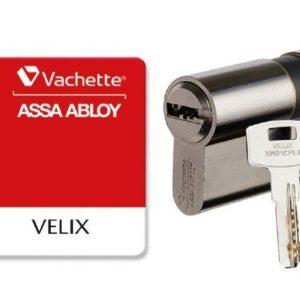 cylindre européen vachette velix 5 clés protégées reversibles brevet 2036