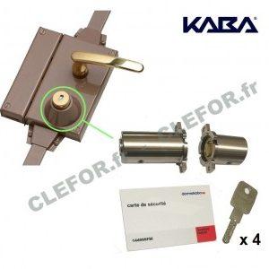 jeu de cylindre adaptable fichet multipoint 787 4 cles kaba