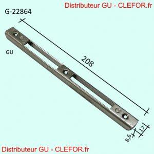 6900 gache gu ferco pour menuiserie pvc g-22864-00 g22864 g22664