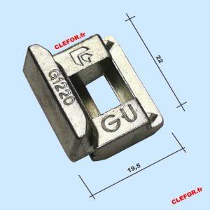 gu g1220 gache gu g1220 E-19246-11-0-1 gache menuiserie pvc