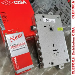 serrure porte blindee cisa 4 penes ronds cle de coffre double panneton serratura 57665-28 57665-48