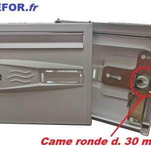 portillon porte boite aux lettre decayeux languedoc compler fermeture 3 points came plastique ronde diametre 30